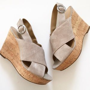Shoes - Franco Sarto Sari Cork Wedge